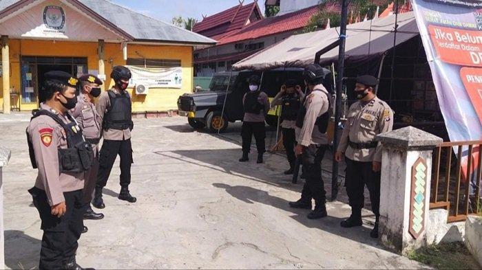 Polres Kapuas Siagakan Personel untuk Pengamanan di KPU Kapuas
