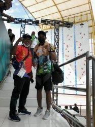 NEWS VIDEO, Atlet Panjat Tebing Kalteng Alberto Peringkat Sembilan, Main di Nomor SWR Putra