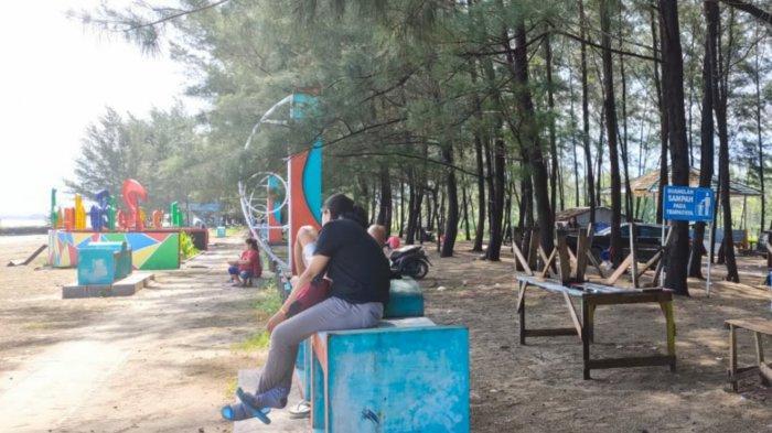 Cuti dan Libur Panjang, Warga Batulicin Kalsel Pilih ke Pantai