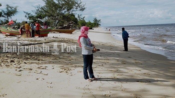 Dilarang Masuk ke Pantai Ujung Pandaran Kabupaten Kotim, Pengunjung Balik Kanan