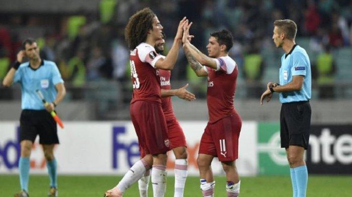 Arsenal Puncaki Klasemen Grup E Liga Europa Usai Tekuk Tuan Rumah Qarabag dengan 3 Gol Tanpa Balas