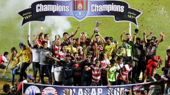 Tumbangkan Bhayangkara Fc, Madura United Juara Cilacap Cup