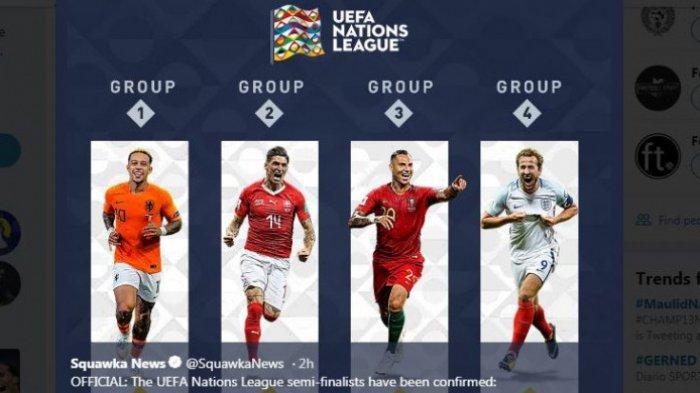 Meski Bermain Seri 1-1 Vs Polandia, Portugal ke Final, Berikut Hasil Lengkap UEFA Nations League