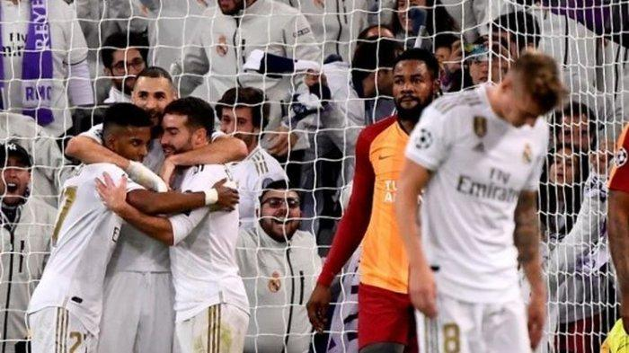 Real Madrid Menang 6 Gol Tanpa Balas Kontra Galatasaray di Grup A Liga Champions, Rodrygo Sempurna