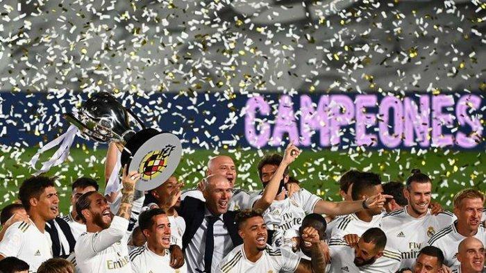 Klasemen Akhir Liga Spanyol, Real Madrid, Barcelona, Atletico Madrid & Sevilla Selalu Finis 4 Besar