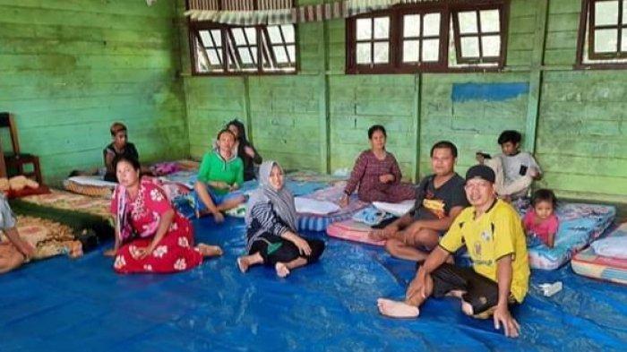 Banjir Terparah Sepanjang Sejarah di Lamandau, Ratusan Warga Tidur di Pengungsian