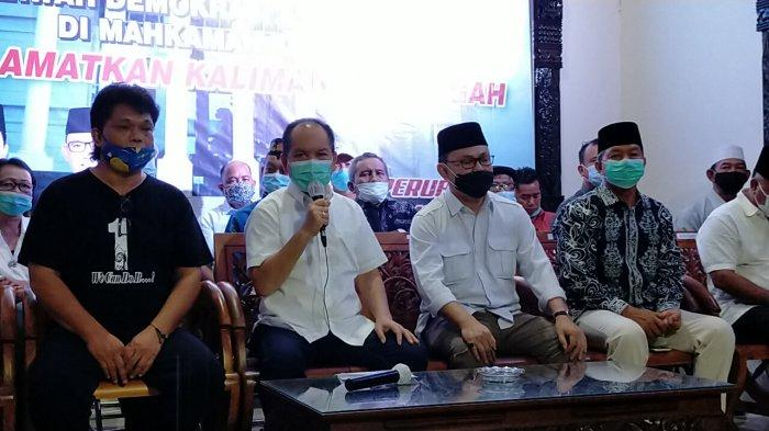 Paslongub Ben-Ujang Hari Ini Sampaikan Gugatan ke Mahkamah Konstitusi Tolak Hasil Pilgub Kalteng