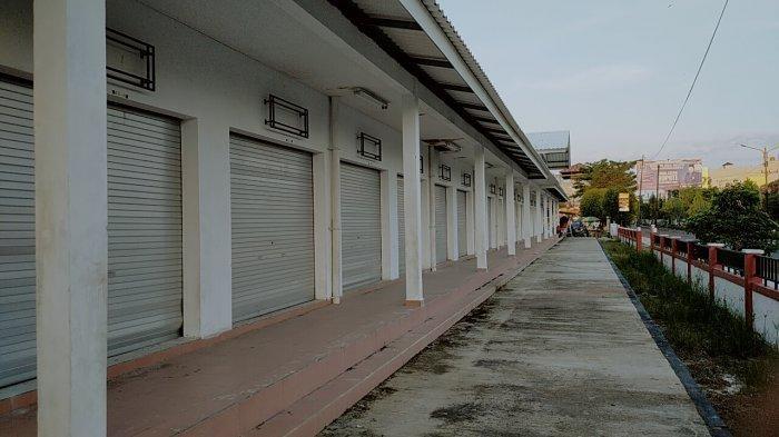 Terbengkalai, Pasar Rakyat Mentaya Sampit Dibangun Dari Dana APBN Rp6 Miliar