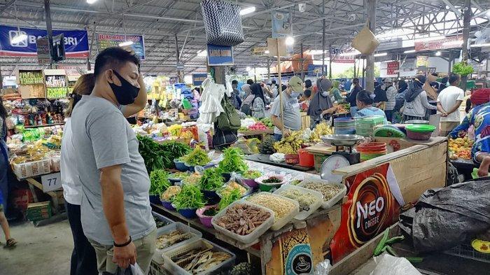 Pasar Tradisional Al-Kamal Baamang Sampit Kalteng Makin Ramai Pengunjung Jelang Puasa Ramadan