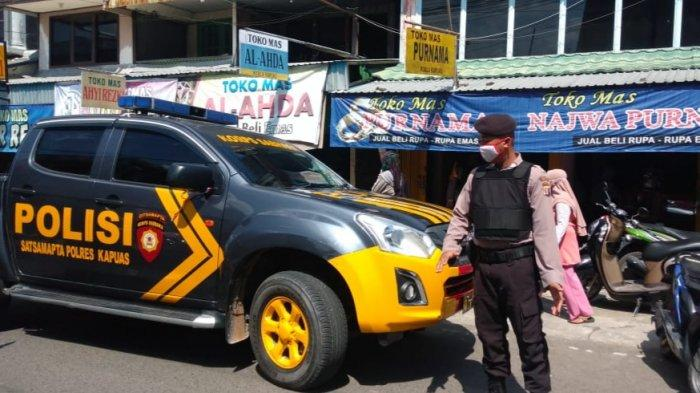 Antisipasi Tindak Kejahatan di Toko Emas, Ini Upaya Kepolisian di Kapuas