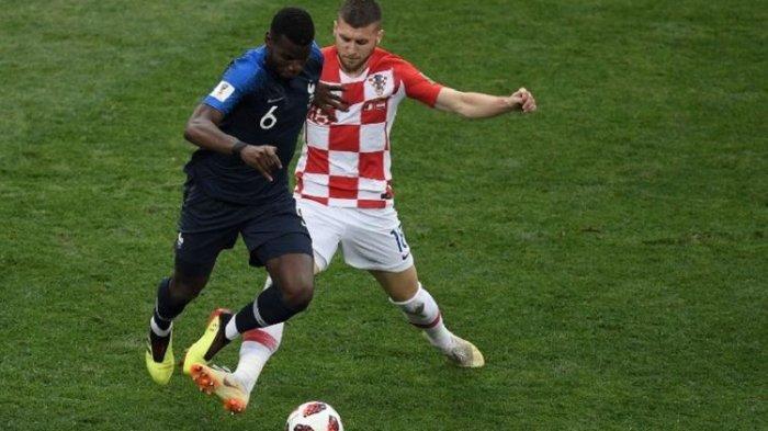 Final Piala Dunia 2018 Kroasia Vs Perancis, Sepatu Paul Pogba Dilelang Laku Hampir 0,5 Miliar Rupiah