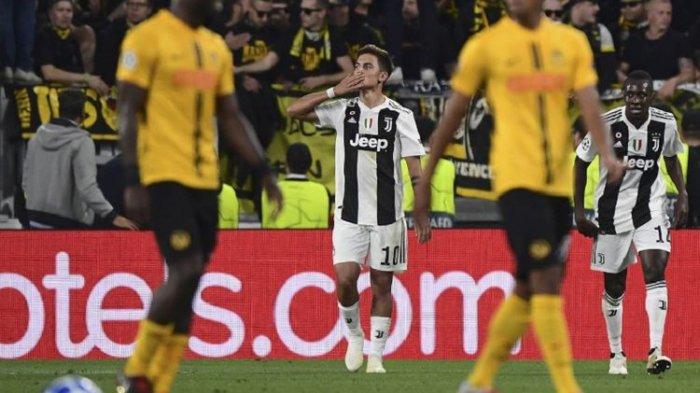 Hasil Juventus Vs Young Boys - Paulo Dybala Borong 3 Gol untuk Si Nyonya Tua