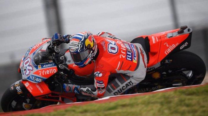 Hasil Latihan Bebas 1 MotoGP Italia 2018 San Marino Sirkuit Misano, Rossi Melempem, Dovizioso No 1