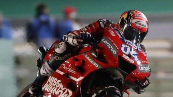 Andrea Dovizioso Juara Usai Kalahkan Marc Marquez di MotoGP Qatar 2019 di Sirkuit Losail