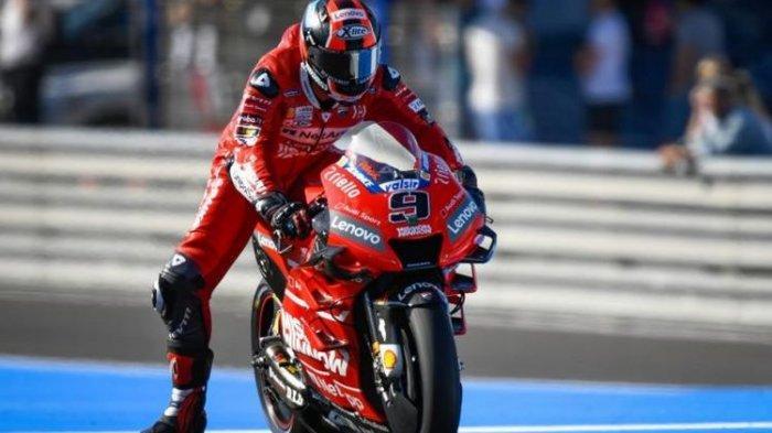 Hasil MotoGP Prancis 2020 : Danilo Petrucci Tercepat, Adik Marc Marquez Impresif, Rossi Crash