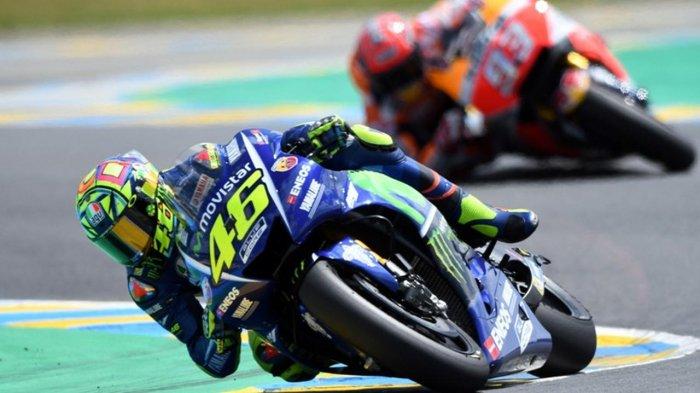 Jadwal MotoGP Thailand 2018 Live Trans 7 : Valentino Rossi Pernah Anggap Sirkuit Buriram Membosankan