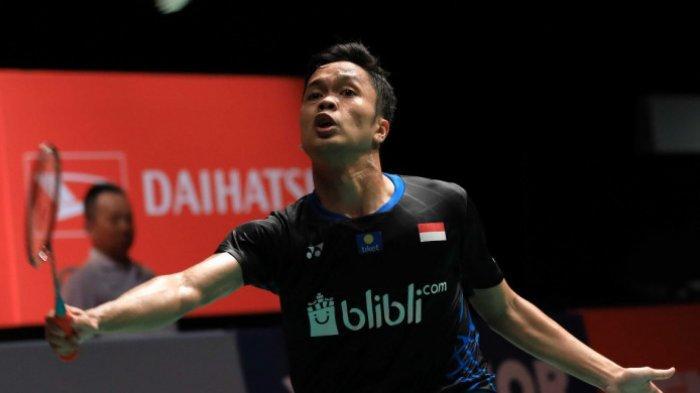 Ginting Kalahkan Parupallo Kashyap di Babak Kedua Malaysia Masters 2019