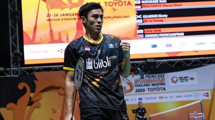 Rekap Hasil Thailand Masters 2020 - Indonesia Pastikan 1 Tiket Semifinal Berkat Shesar Hiren
