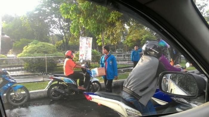 Satu Jam Beraksi, PMII Himpun Rp 4,6 Juta Buat Peduli Aceh