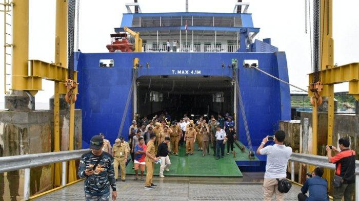 Pelabuhan Bahaur Permudah Warga Kalteng ke Jawa, Tidak Lagi ke Trisakti