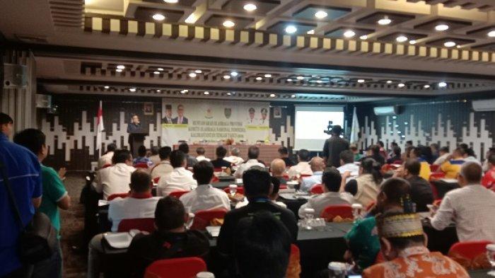 Pemilihan Ketua KONI Kalteng Lewat Musorprovlub, Sempat deadlock dan Bentuk Caretaker
