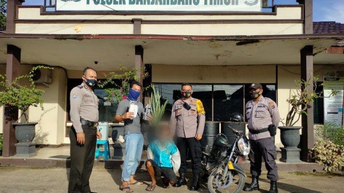 Polsek Banjarbaru Timur Ungkap Kasus Pencurian Sepeda Motor Milik Syarkawi