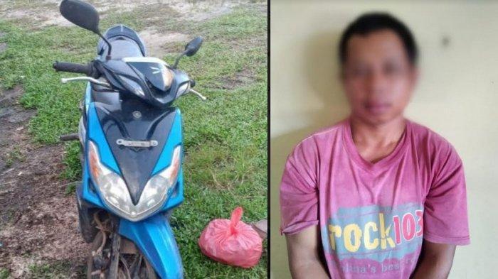 Sepeda Motor Teman Dibawa Kabur Lebih 2 Bulan, Pelaku Tak Berkutik Dibekuk Aparat Polres Katingan