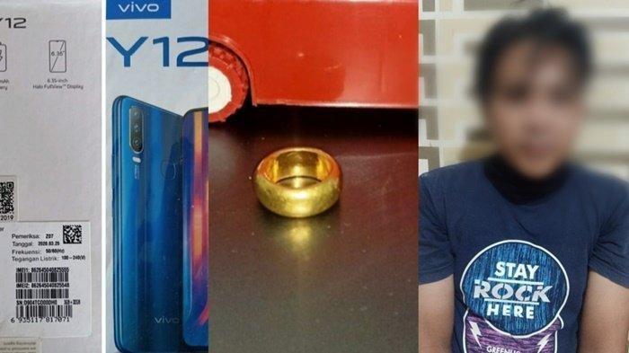 Pria Ini Diciduk Polisi di Kapuas, Curi HP dan Cincin Emas
