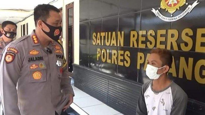 Dimarah-marahi Istri, Lelaki Ini Onani di Jalan Akhirnya Diamankan Polresta Palangkaraya