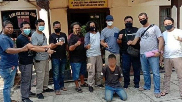 Karyawan Pencucian Mobil di Banjarbaru Ini Diringkus Polisi, Gara-gara Curi HP Pelanggan