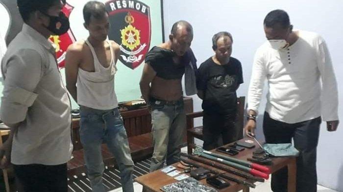 Komplotan Pencuri Lintas Kabupaten di Kalimantan Tengah Diringkus Tim Polisi Gabungan Kalteng