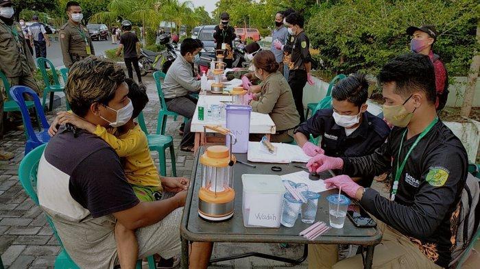 Satgas Covid-19 Kota Palangkaraya Sudah Menindak Lima Ribu Lebih Pelanggar Protokol Kesehatan