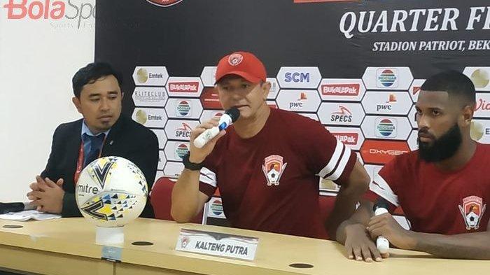 Gol Kontroversial di Babak 8 Besar Piala Presiden, Oliviera Maklumi Keputusan Wasit