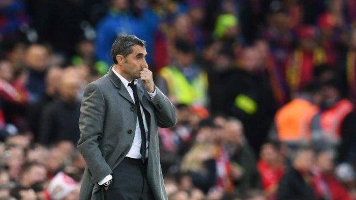 Liga Spanyol - Terungkap, FC Barcelona Bisa Pecat Ernesto Valverde Tanpa Pesangon