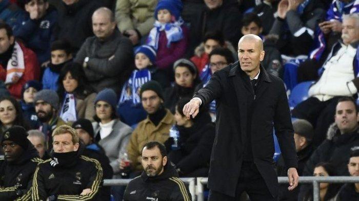 Getafe Vs Real Madrid - Zidane Begitu Bahagia Bisa Curi Poin dan Diperingkat 2 Klasemen Liga Spanyol