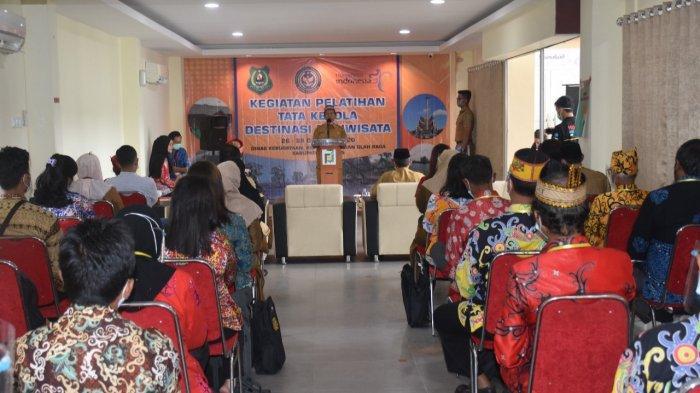 Disbudpora Kapuas Adakan Pelatihan Tatakelola Destinasi Pariwisata