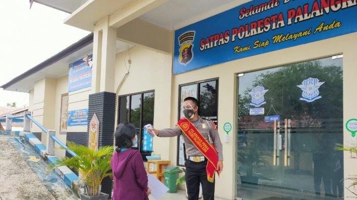 Urus Perpanjangan SIM di Satlantas Polresta Palangkaraya Wajib Ikuti Protokol Kesehatan