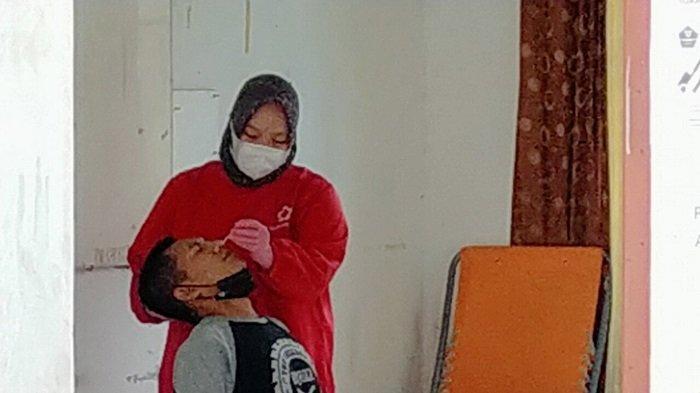 Puluhan Pengunjung Kafe di Palangkaraya Terjaring Tanpa Masker, Langsung Tes Antigen dan Swab PCR
