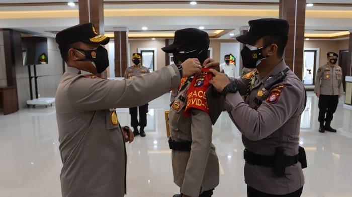 Polda Kalteng Kerahkan 250 Tenaga Tracker di Lima Kabupaten Kota Kalteng, Lacak Kontak Erat Covid-19