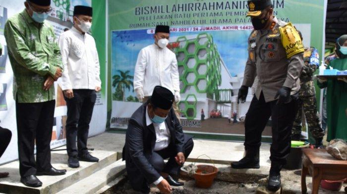 Ormas Islam Nahdatul Ulama Kalteng Bangun Rumah Sakit Tipe D di Palangkaraya