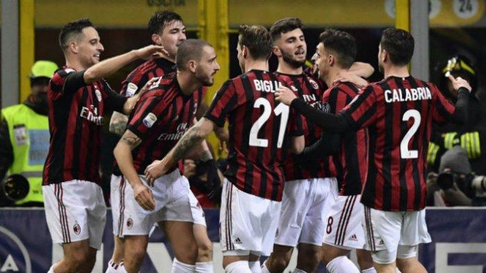 AC Milan Berhasil Tak Terkalahkan di Sepuluh Laga Terakhir
