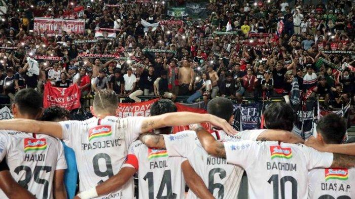 Kalah dari Bali United 2-1, Kalteng Putra Masuk Zona Degradasi di Klasemen dan Hasil Laga Liga 1