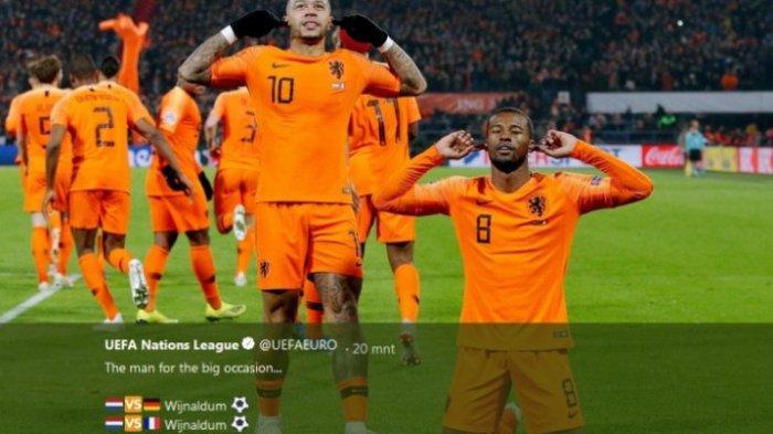 Meski Belanda Menang 2 Gol, Prancis Tetap di Puncak Klasemen UEFA Nations League