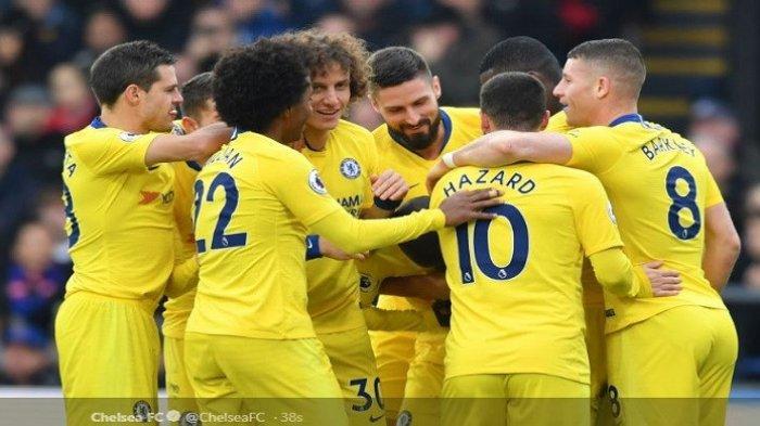 Gol Kante Menangkan Chelsea Versus Crystal Palace di Pekan ke-20 Liga Inggris