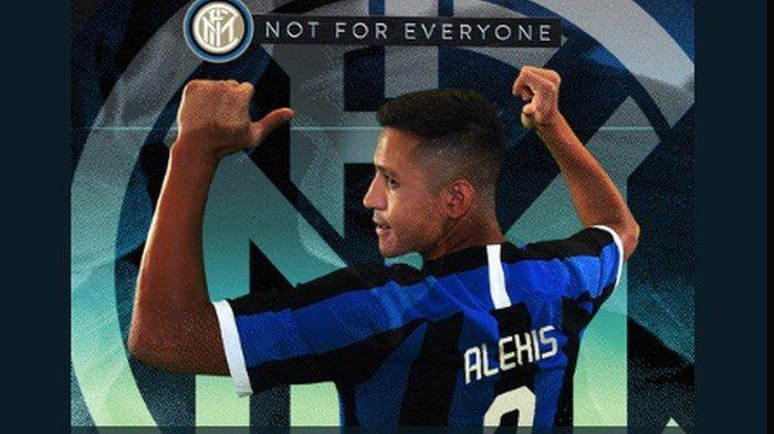 Dipinjamkan Manchester United ke Inter Milan, Alexis Sanchez Tak Menyesal Pakai Kaos Nomor Tujuh