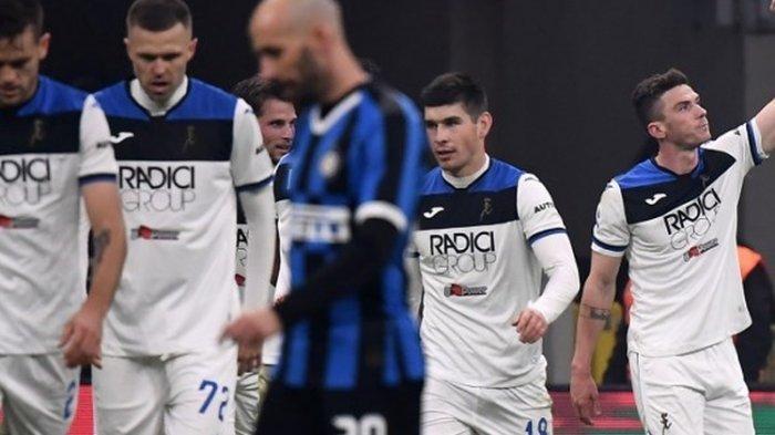 Hasil Liga Italia Inter Vs Atalanta, Skuad Antonio Conte Gagal Raih Kemenangan di Giuseppe Meazza
