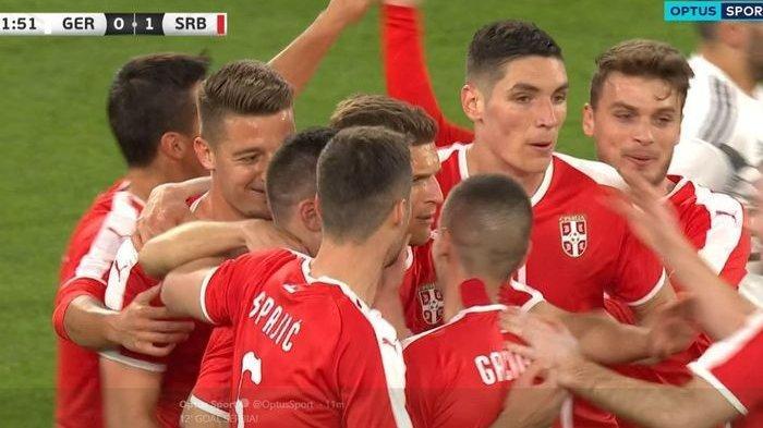 Di Babak Pertama Laga Persahabatan, Tuan Rumah Jerman Tertinggal 1 Gol Oleh Tamunya Serbia