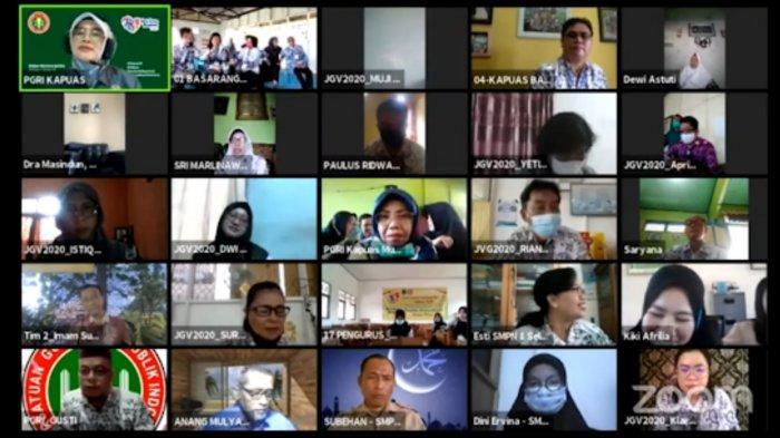 Secara Virtual, Jambore Guru di Kapuas Dilaksanakan