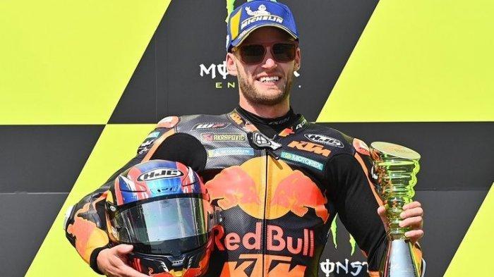Menang di MotoGP Ceko 2020, Brad Binder Ungguli Valentino Rossi dalam Hal Ini