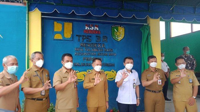 NEWS VIDEO, Wali Kota Palangkaraya Resmikan TPS 3R Merdeka,  Upaya Atasi Sampah di Kota Cantik
